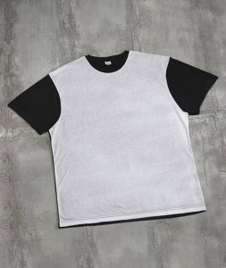 Adult Blackout Polyester Sublimation Tee - (1902)