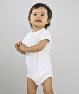 Infant Polyester Sublimation Creeper - (L4610)