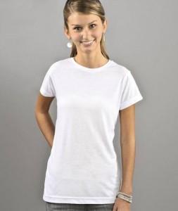 Juniors Polyester Sublimation T-Shirt - (L1610)