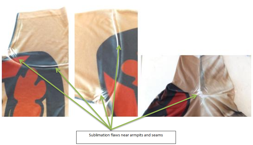 Sublimation Flaws